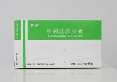 沙利度胺治疗特发性肺纤维化有效