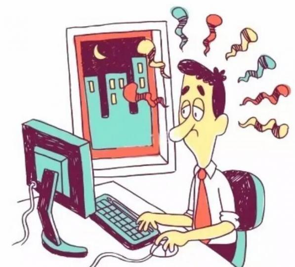 熬夜易导致消化系统疾病